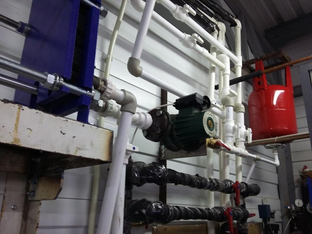 Подбор пластинчатого теплообменника для обеспечения безопасности системы фанкойлов