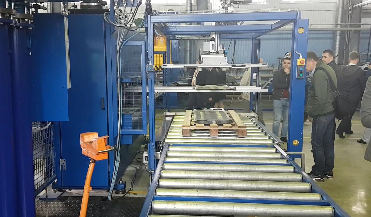 Запуск новой линии по производству пластин на заводе Ридан