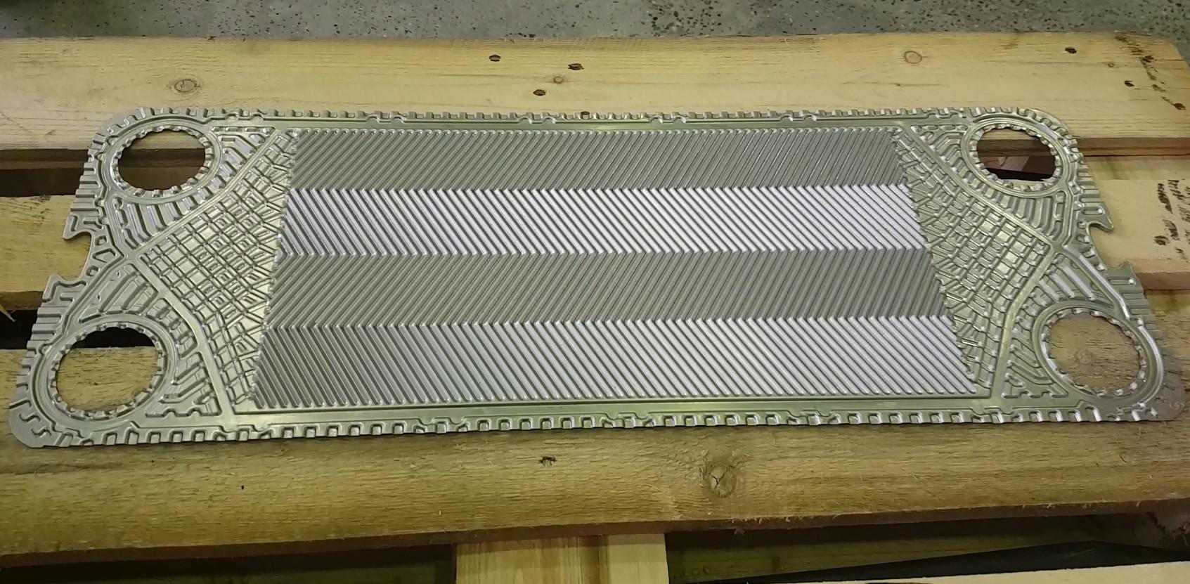 Готовые пластины для разборного теплообменника